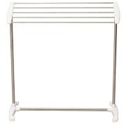 ease Home Towel Stand Bathroom Rack Free Floor Standing Towel Holder