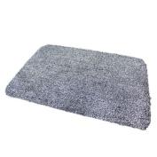 Unibos super absorbent soak mat door mat carpet floor anti slip step rug perfect indoor doormat suitable for hallways backdoors & offices