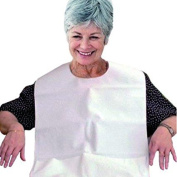 Adult bib waterproof and reusable terry