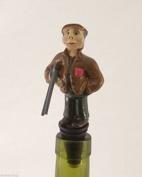 Gamekeeper Wine Saver Bottle Stopper / Novelty Cake Decoration + Gift Box