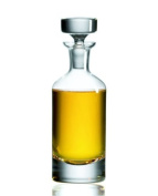 Classic Clear Handmade Glass Bottle With Stopper | Decanter 1000 ml