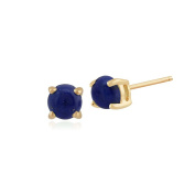 9ct Yellow Gold Round Stud Earrings 3.50mm
