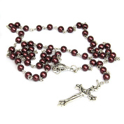 Holy Cross Rosary beads necklace in variation colour