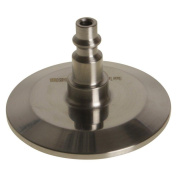 Glacier Tanks - Air Hose Quick Disconnect | Tri Clamp 5.1cm x 0.6cm Industrial - Sanitary Stainless Steel SS304