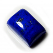 Genuine Lapis Lazuli Loose Gemstone Cabochon 5 Carat Rectangle Shape Chakra Healing Astrological AA+