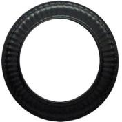 Imperial Mfg Group Usa BM0340 Black Stove Pipe Trim Collar, 28-Ga., 7.6cm .