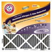 Arm & Hammer AF-AH21424CS4 Allergen Reduction Maximum Pleated Air Filter, 60cm L x 36cm W x 2.5cm T