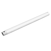 Extended Down Rod Extension Downrod Ceiling Fans Accessories White 46cm x 1.9cm