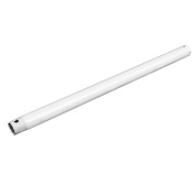 Extended Down Rod Extension Downrod Ceiling Fans Accessories White 60cm x 1.9cm