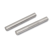 Unique Bargains 12mm x 100mm Metal Machine Turning Tools Rod Bar Lathe Round Stick 2pcs