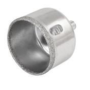 45mm Cutting Diameter 8mm Round Shank Metal Diamond Coated Glass Hole Saw