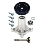 Deck Spindle Assembly Pulley Bolt Kit Husqvarna 2354GXLS LGT2554 2654 GTH24V54 Lawn Mowers