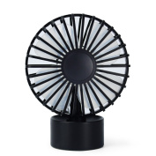 USB Fan, FTUNG Mini USB Desk Table Fan Personal Cooling for Travelling Hiking Fishing Camping Desktop or Car Use