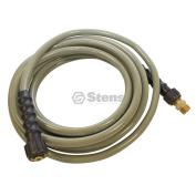 Stens 758-733 Pressure Washer Hose 7.6m; 3700 Psi; 0.8cm Inlet