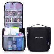 Toiletry Bag, P.KU.VDSL Portable Waterproof Travel Organiser Hanging Toiletry Kit Multifunctional Cosmetic Makeup Shaving Bag Outdoor Sports Hiking