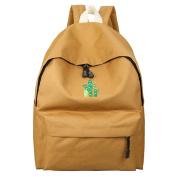 17YEARS Cute Cactus Embroidered Backpack Student School Bag Women Rucksack Shoulders Bag