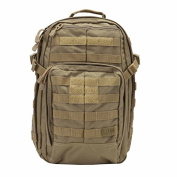 5.11 Tactical Water Resistant Rush Outdoor Trekking Backpack available in Sandstone - 21.2 Litres