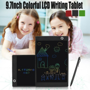Cooljun Kids Fashion 25cm LCD Writing Tablet Pad Office Memo Home Message Drawing Board
