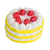 SEWORLD Stress Reliever Toy Cute Strawberry Cake Scented Slow Rising Kids Toy