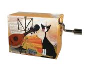 "Fridolin 147940cm Beethoven for Elise/Wachtmeister Musical Cat"" Music Box"