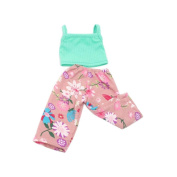 huichang Clothes Pants For 46cm Our Generation American Girl & Boy Dolls Logan Doll