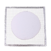 Sharplace 14x14cm Wire Gauze Ceramic Tripod Net Mesh Support for Chemistry Experiment Accessories Lab Supplies