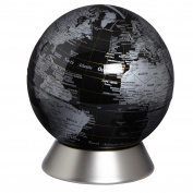 Globus Piggy bank Orion Black Decorative and instructive Globus Globes