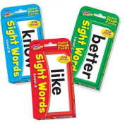 Childrens Sight Words Pocket Flash Cards Combo Pack (Level A, B & C) By Trend