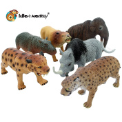 Ice Age Pre-Historic Plastic Toy Figures bagged set of 6