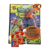 ZOMLINGS IN THE TOWN ~ SERIES 6 STARTER PACK (English) + 2 x GoGo CRAZY BONES TRADING CARD PACKETS