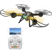 ESGOT TK107 RC Quadcopter 2.4GHz 4CH 6-Axis Gyro Remote Control Drone with 720P HD Camera and LED Lights