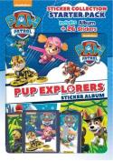 Panini Nickelodeon Paw Patrol Pup Explorer Starter Pack - Album and 26 Stickers