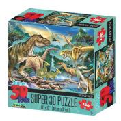 Howard Robinson HR10806 Super 3D Dinosaur Valley Puzzle