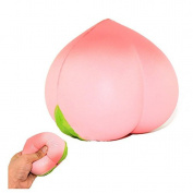 HENGSONG Pink Peach Squishies Toy Squeeze Slow Rising Relieves Stress Soft Toy for Children and Adult Toy