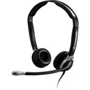 Sennheiser CC 520 IP Headset - Stereo - Wired - 180 Ohm - 150 Hz - 6.80 kHz - Over-the-head - Binaural - Semi-open - 1m Cable