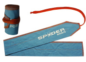 SpiderSports Weight Lifting Cotton Wrist Wraps Strength Wraps Bandage Hand Support Gym Straps -Pair