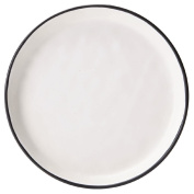 Living & Co Glazed Side Plate with Clay Bottom 20cm