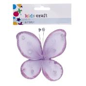 Kids' Art & Craft Butterfly Embellishment 10cm