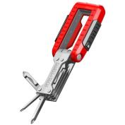 Swiss+Tech TFCSRE 11-in-1 Transformer Key Chain Multi Tool Screwdriver Set