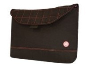 Sumo 43cm Nylon Sleeve Black - with Pink Stitching