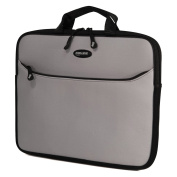Mobile Edge MESS2-16 41cm SlipSuit Laptop Sleeve, Silver