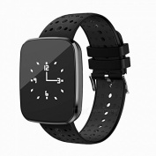 Torus Pro Black Heart Rate Monitor and Fitness Activity Tracker Watch, Blood Oxygen Monitor and Blood Pressure Monitor, Colour Screen, Pedometer, Calorie Counter Plus Sleep Tracker and USB Charge