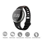 Torus Pro E07 Water Proof Fitness Watch with Pedometer Calorie Counter and Swim Mode and Music Play. This Fitbit Styled Sports Accessory and Activity Tracker is Compatible with iPhone and Android Phones. Easy Usb Charge.