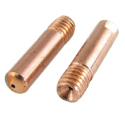 CO2 Welding Solder Torch Copper Tone 1.2mm Nozzle Tip 20 Pcs