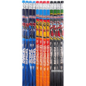 Transformers Authentic Licenced 12 Wood Pencils Pack