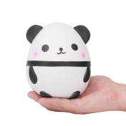 TEEGOMO 14cm Slow Rising Squishies Jumbo Scented Kawaii Squishies Panda Egg Animal Toy for Collection Stress Relief