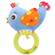 Happy Monkey Bird Colourful Ring Baby Handbell Toy
