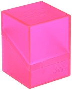 Ultimate Guard Deck Box Boulder Standard 100+ Rhodonite Pink Collectible Card Protection