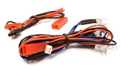 Integy RC Model Hop-ups C25869BLUE LED Light 4pcs w/ Extended Wire Harness to Receiver or 6VDC Source