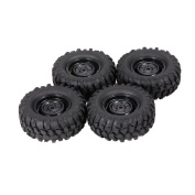 Goolsky 4pcs 1.9 Inch 96mm Crawler Car Wheel Rim and Tyre for 1/10 HSP Redcat Traxxas Axial SCX10 D9 RC Car